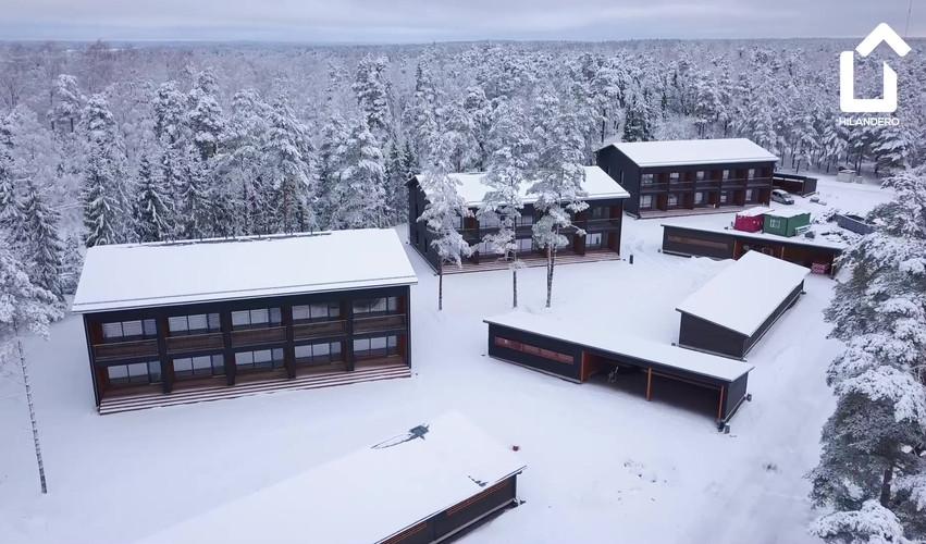 Hilandero Tammisaari modular building video