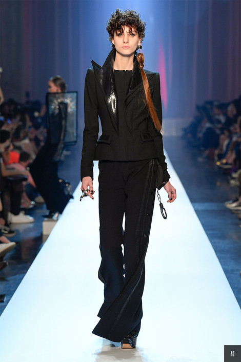 B0 for Jean Paul Gaultier Couture Fall 2019