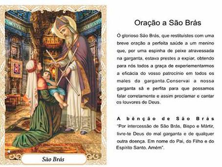 Dia de São Brás   3 de Fevereiro