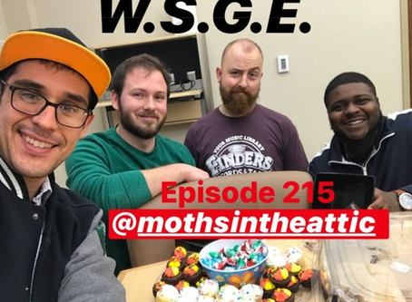 We Speak English Good podcast, Ep. 215 - Moths in the Attic