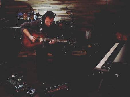 Zack Fletcher of Moths in the Attic Live at Bigfoot Studios