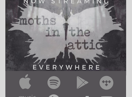 Moths in the Attic debut album now streaming everywhere!