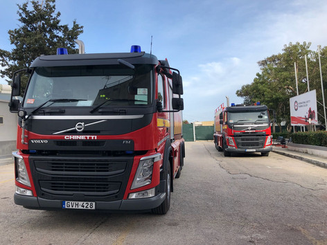 Civil Protection Trucks