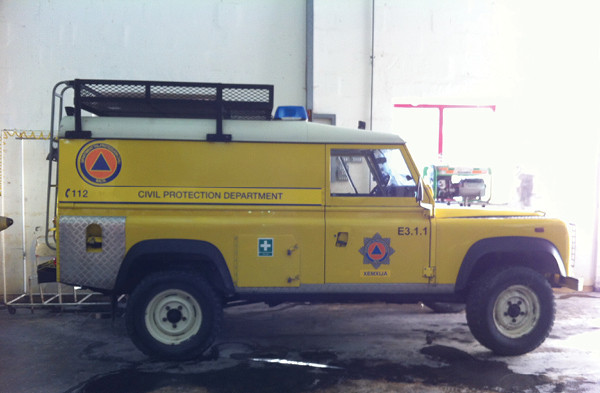 4x4 Rescue Vehicle