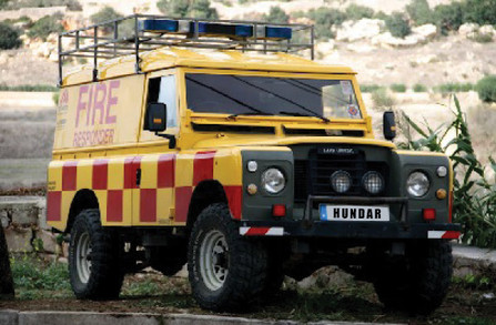 Full Conversion of Fire Truck