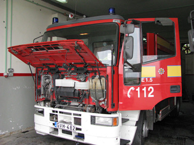 Civil Protection Fire truck