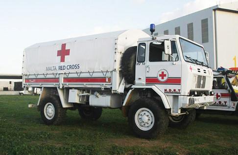 Medical rescue truck