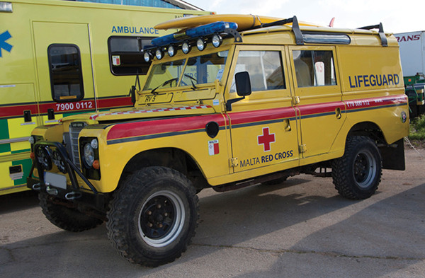 Lifeguard Vehicle