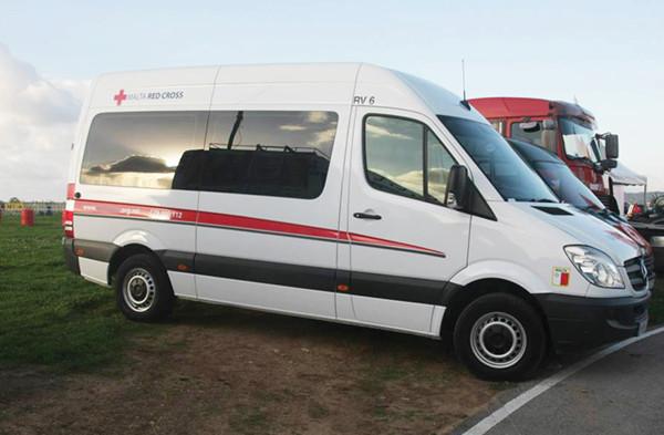 Corporate Transportation Van