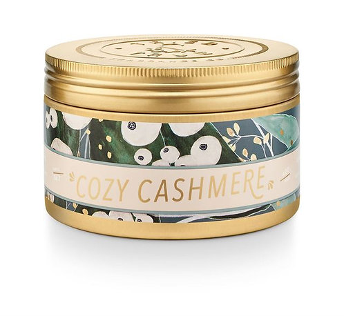 Illume Cozy Cashmere Candle Tin