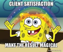 "Work on your ""people skills"" Customer Satisfaction"