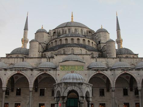 Vánoční svátky v Istanbulu (fotogalerie)