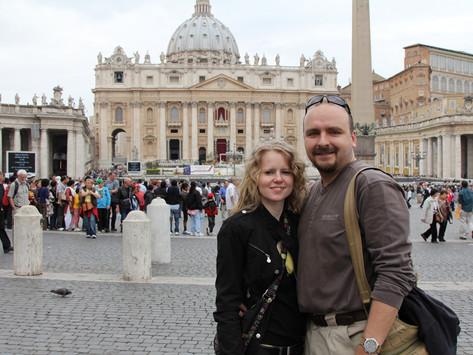 Víkend v Římě a Vatikánu