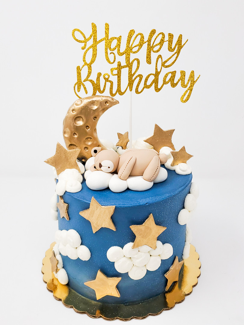 Sleeping Bear Cake