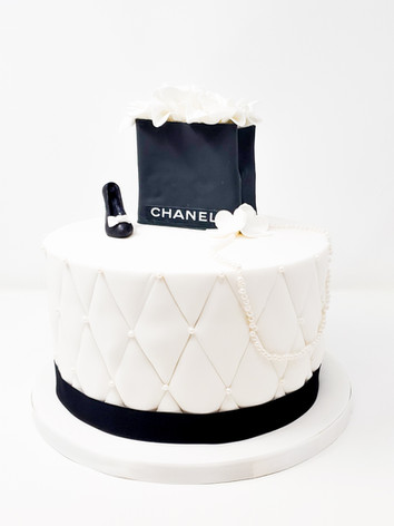 Chanel Themed Cake