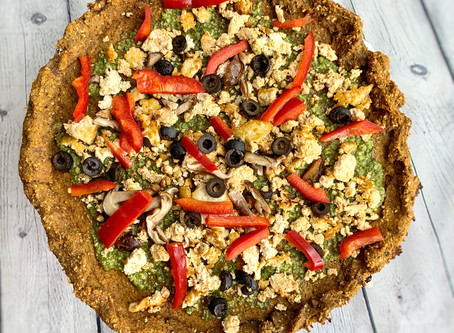 Sweet Potatoes & Oats Pizza Crust
