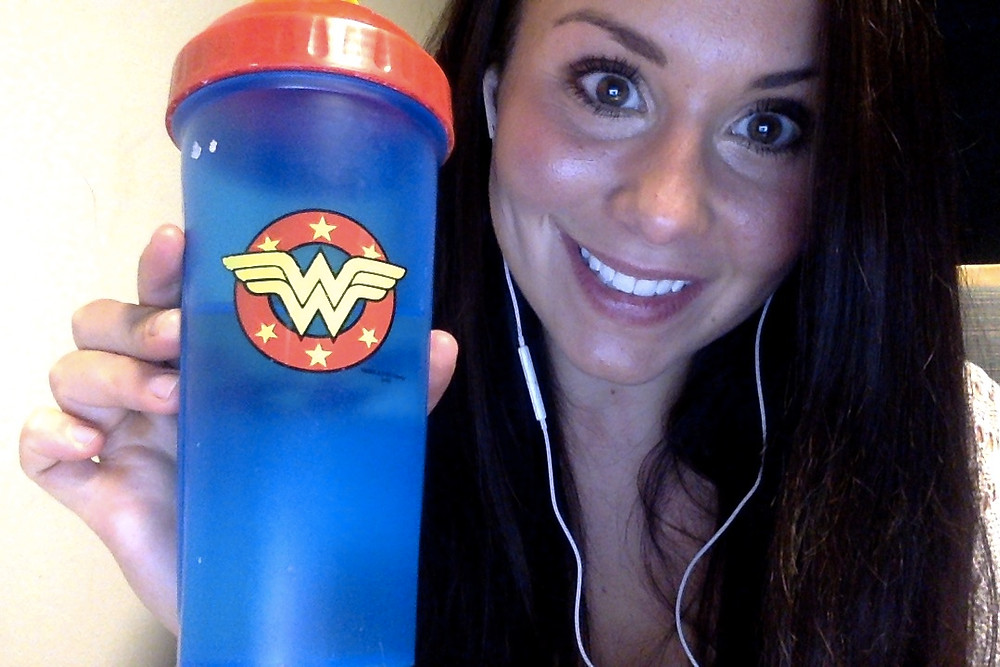 Favourite water bottle of all time ; WONDER WOMAN
