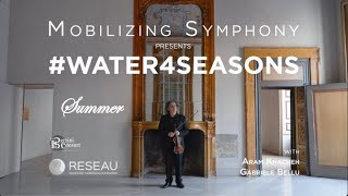UBC's Innovating action on climate change and water quality through classical music