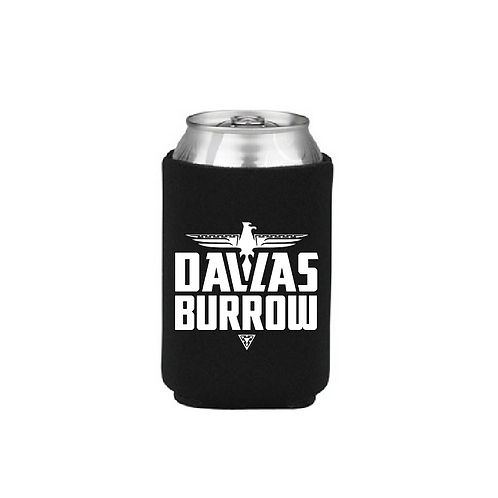 Dallas Burrow Koozie