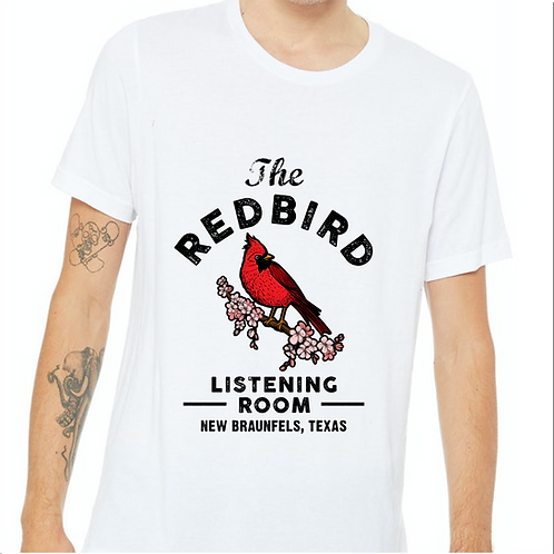 Redbird White T-shirt
