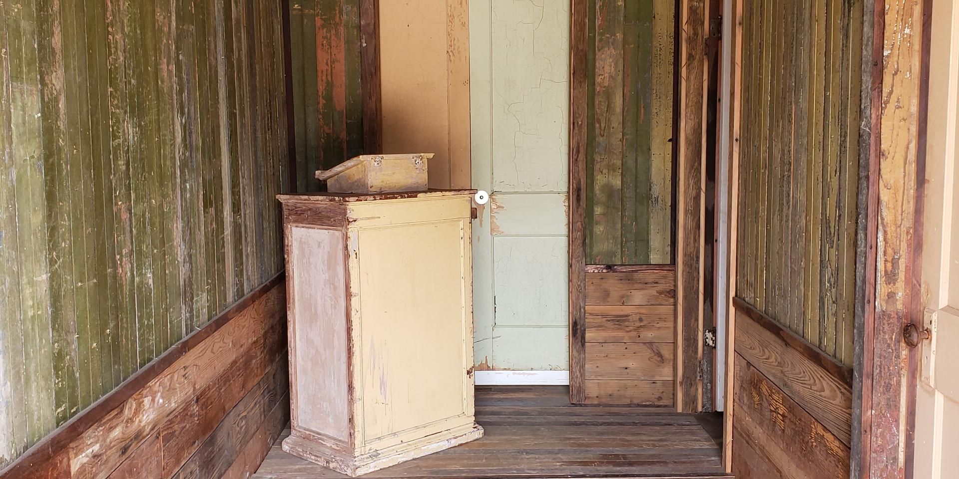 Redbird Listening Room Entrance