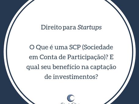 O que é uma SCP (Sociedade em Conta de Participação?