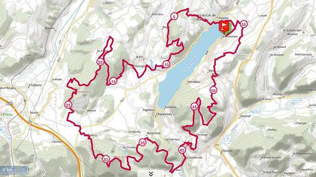 Parcour le grand tours du Lac | Trail du lac de paladru |