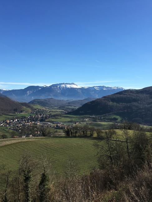 Vue depuis la Tour de Clermont (29, 50km) - Crédit photo : Trace De Trail (tous droits réservés)