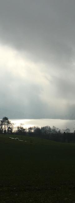 Vue sur le lac (14, 29, 50km)- Crédit photo : Trace De Trail (tous droits réservés)