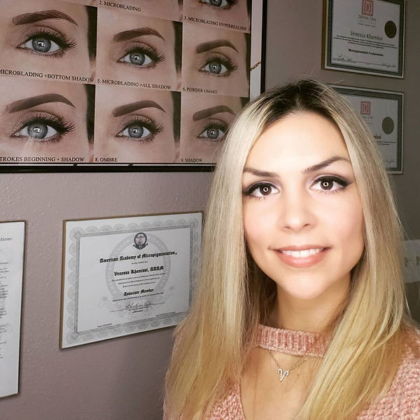 Venessa Khamissi, Owner, Certified Permanent Makeup Artist