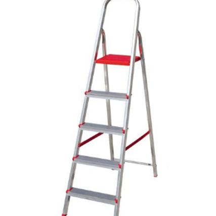 Escada Alumínio 5 Degraus - Botafogo   Informações técnicas