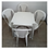Thumbnail: Jogo Mesa Quadrada e Cadeiras Elisa