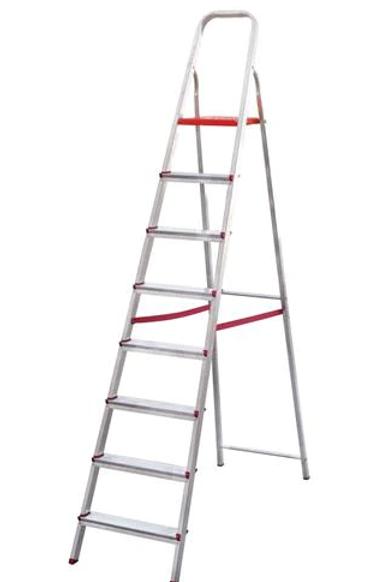Escada Alumínio 8 Degraus - Botafogo 