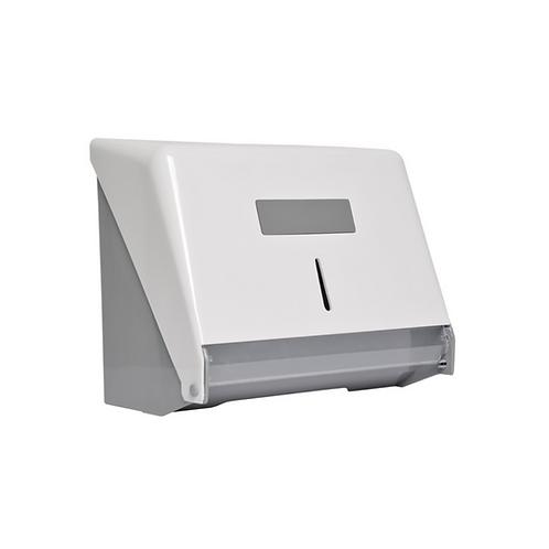 Toalheiro classico ABS para papel bobina ou interfolha