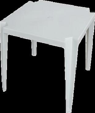 Mesa Quadrada - Rei do Plástico