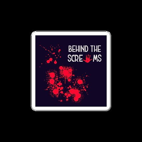 Behind The Screams Logo Sticker