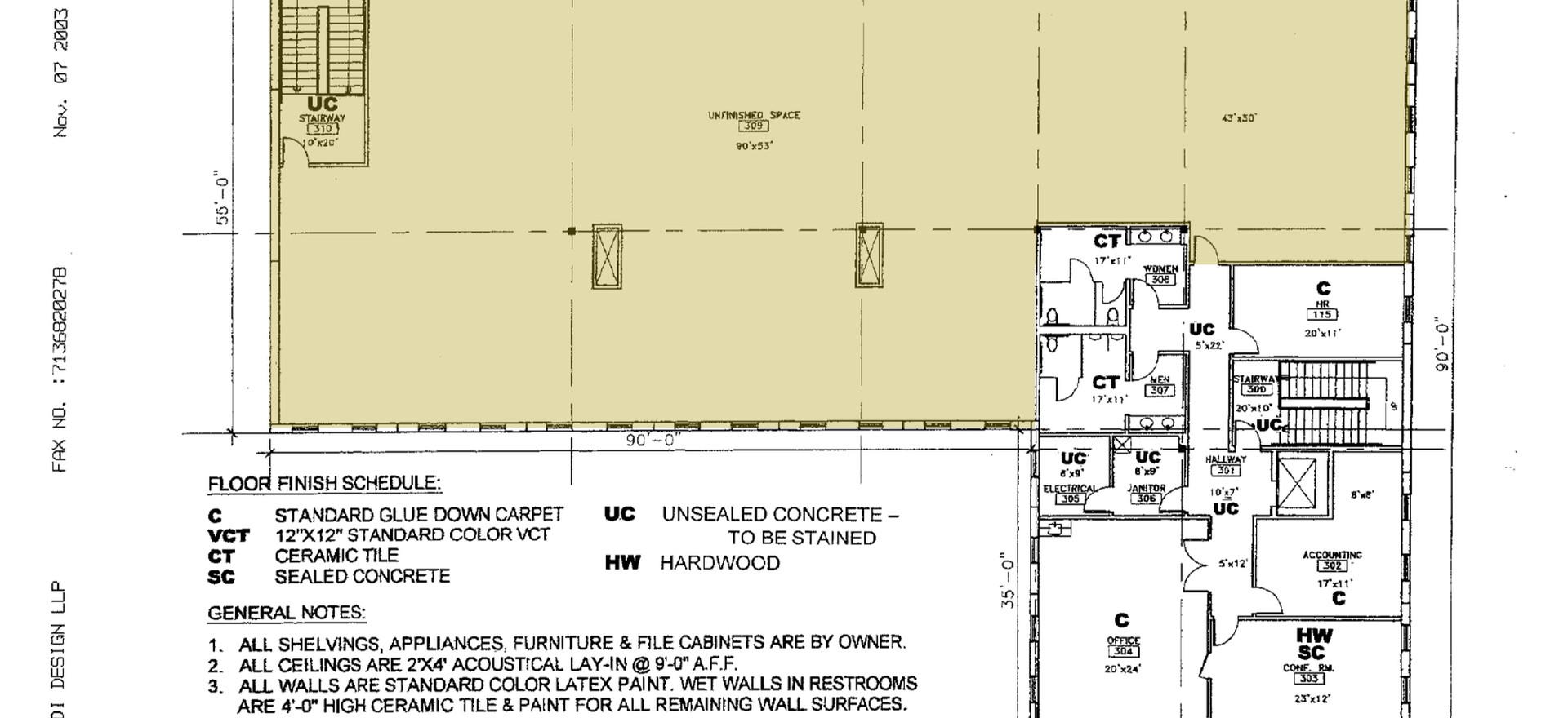 Third Floor Buildout