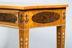 Nautical Marquetry Table