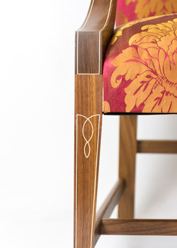 Lolling Chair Leg Detail