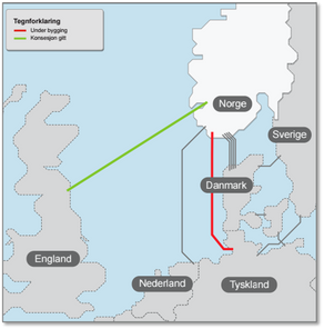 New cables lift energy prices in Nordic market