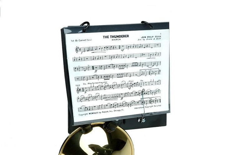 Dynasty Trumpet Bell Clamp On  Lyre