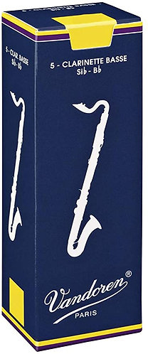 Vandoren Bass Clarinet Reeds Box of Five