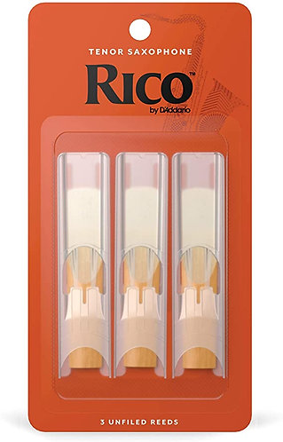 Rico Tenor Sax Reeds 3 Pack