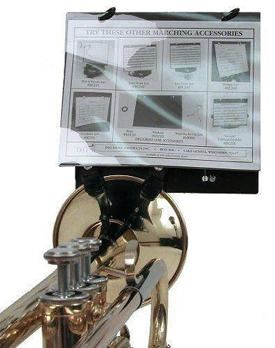 Clamp On Trumpet Lyre - Bell