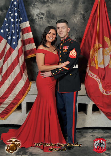Marine Corps Ball photography