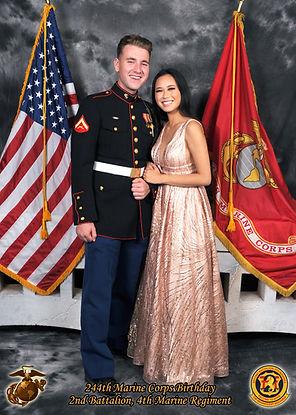 san diego marine corps ball photographer
