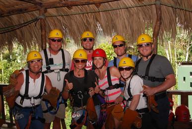 Ziplining in the Dominican Republic