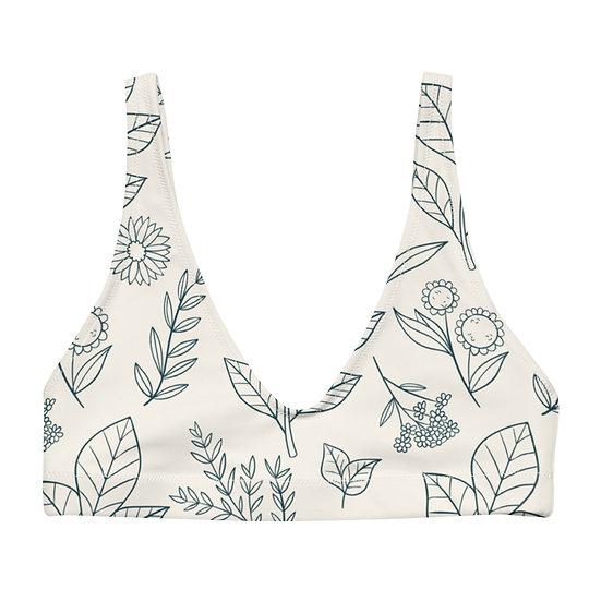 Cute twigs bikini top