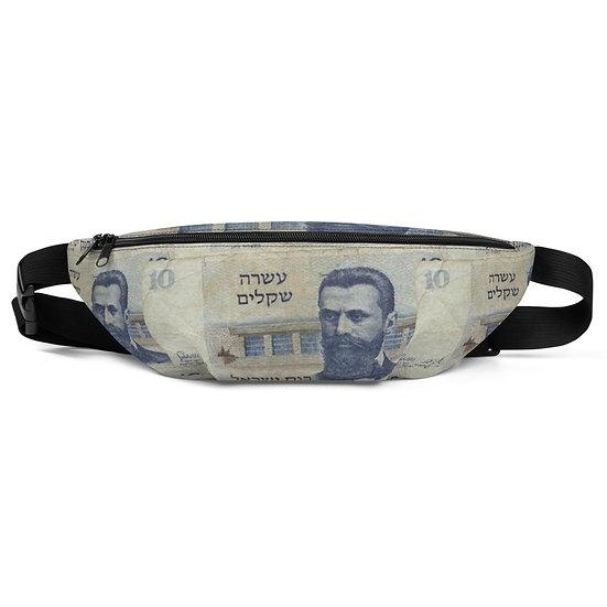 old shekel fanny pack