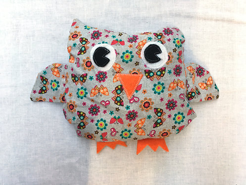 Stuffed Owl Project & Instructions